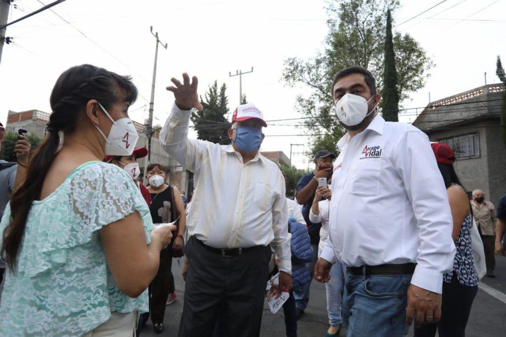 Se compromete Vidal Llerenas a continuar con el mejoramiento de la infraestructura urbana de Azcapotzalco