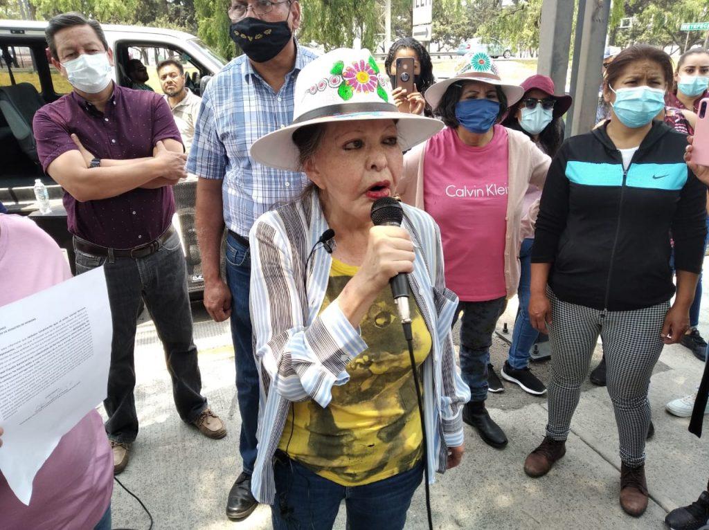 Olga Medina denuncia intento de extorsión