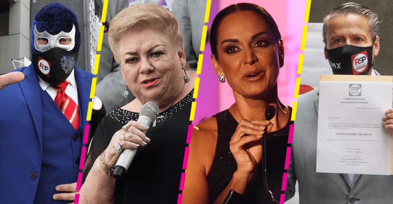 """""""Estrellas"""", celebrities y youtubers a la política; elecciones intermedias"""