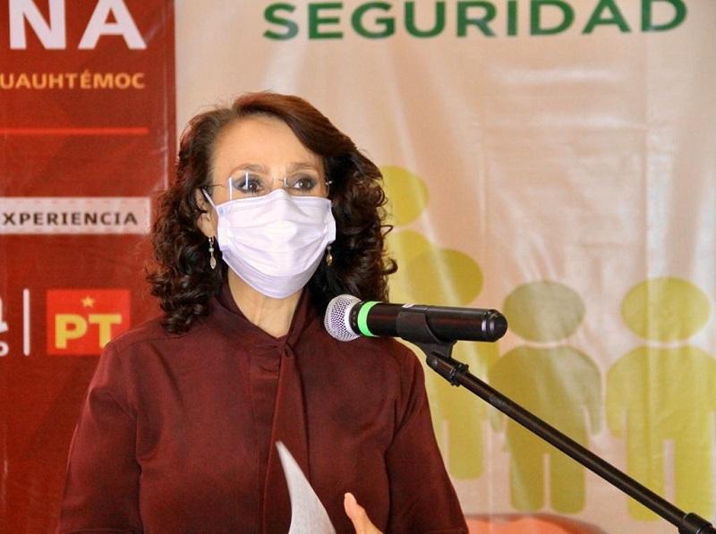 Presenta Dolores Padierna Estrategia de Seguridad para la Alcaldía Cuauhtémoc