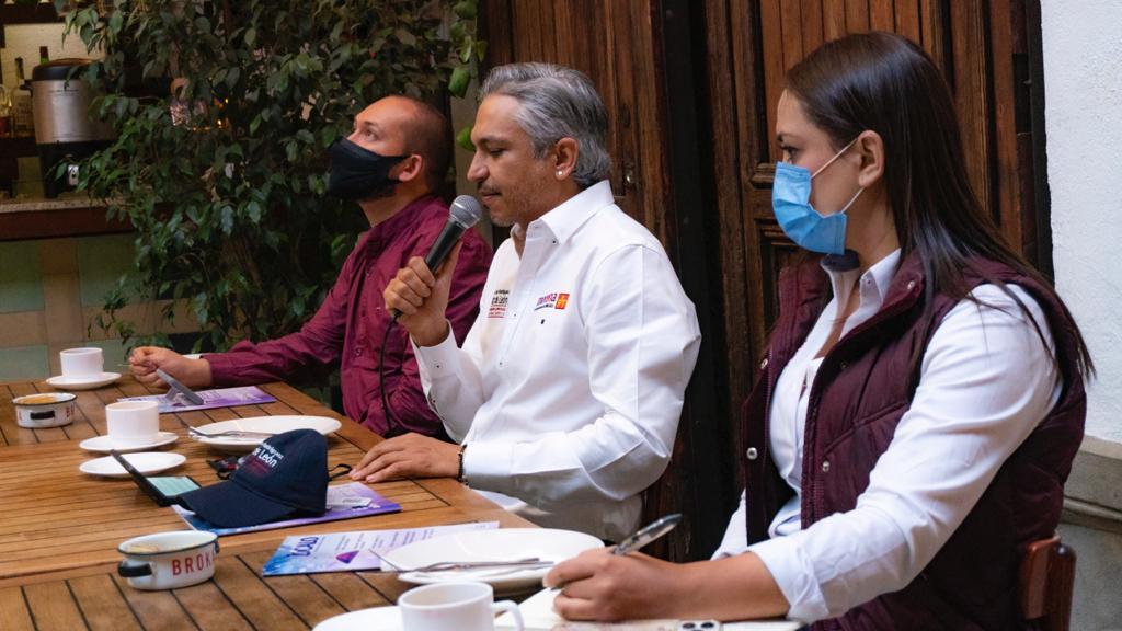 Candidata y candidatos legislativos de Morena en Cuauhtémoc presentan compromisos de campaña