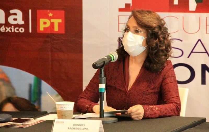 Presenta Dolores Padierna Plan de Desarrollo Económico para la Alcaldía Cuauhtémoc
