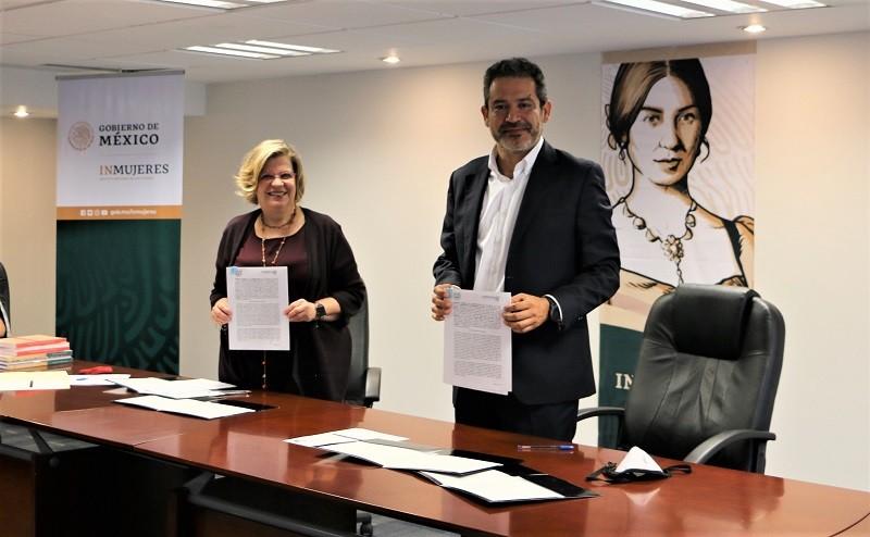 Inmujeres y la Universidad Autónoma de Chiapas suscriben Convenio General de Colaboración