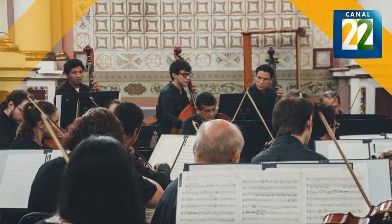Tormenta e ímpetu, concierto de sinfonías alemanas clásicas, a través de Canal 22