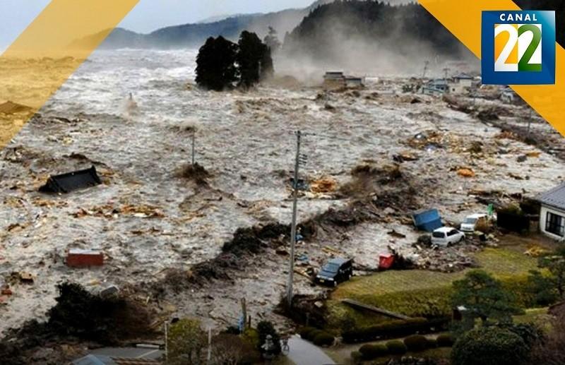 Canal 22 estrena documental acerca del tsunami más devastador en Japón: Tsunami. Los primeros 3 días
