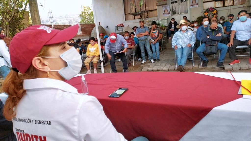 Reactivación económica, turística y creación de viveros, prioridad de Judith Venegas