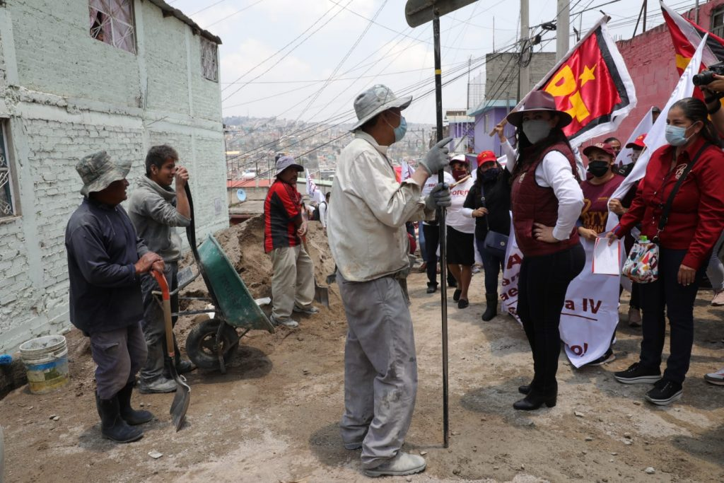Debe continuar la transformación de Naucalpan en un lugar seguro: Patricia Durán Reveles