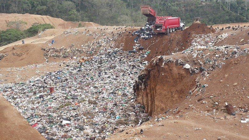 Raciel Pérez convertirá relleno sanitario en centro de gestión integral de residuos