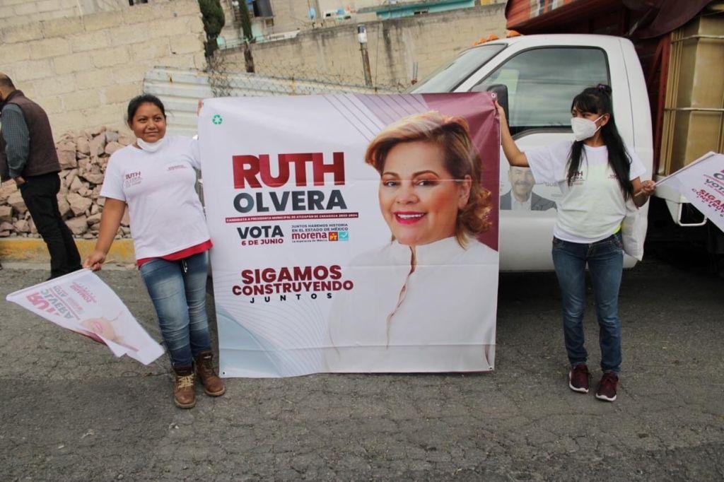 Ruht Olvera Nieto va por un municipio con servicio internet gratuito que impulse la educación