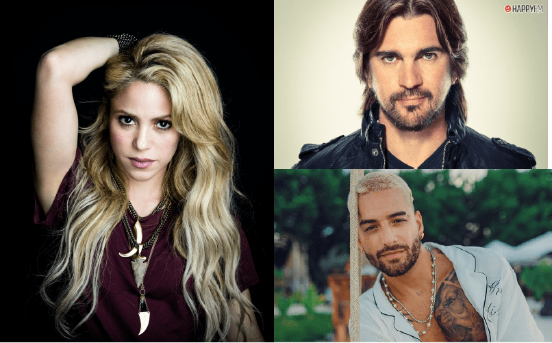 De México a Colombia; de Shakira a Juanes, a Maluma