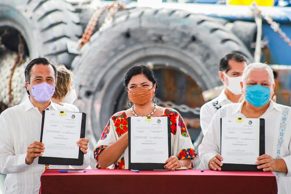 La Secretaría de Cultura y el Corredor Interoceánico firman un convenio de colaboración en favor de la cultura en la región