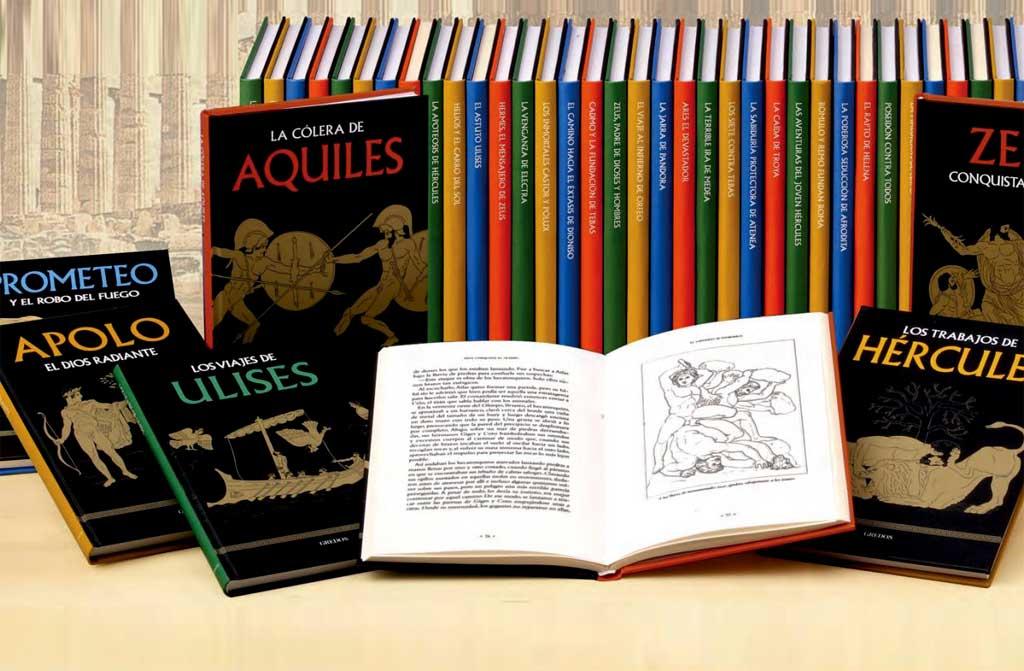 «MITOLOGÍA», colección de fascinantes aventuras sobre héroes y dioses