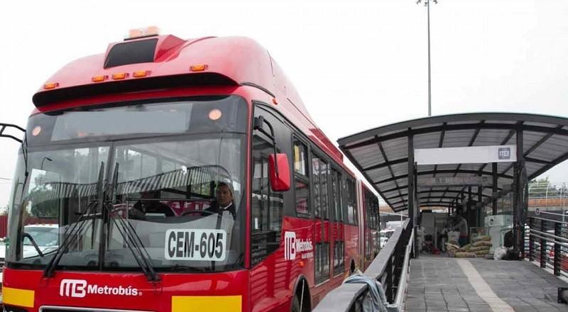 Anuncia Metrobús cierre parcial de  la estación  Euzkaro de L1, en sentido sur