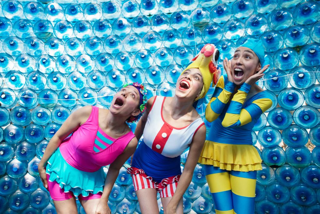 Ultramareadas, un espectáculo clown para sacarle provecho al desecho