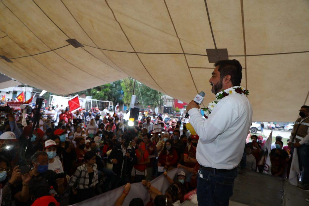 Se compromete Vidal Llerenas a generar empleo en la zona industrial de Vallejo