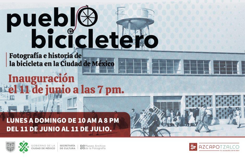 """Inauguran """"Pueblo bicicletero"""" en Azcapotzalco"""