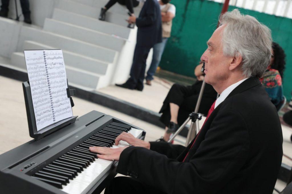 Inauguran foro Fréderic Chopin en Santa María la Ribera, en homenaje al músico polaco