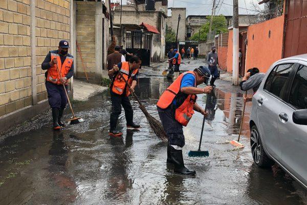 Atiende Alcaldía Xochimilco  a población afectada por las lluvias