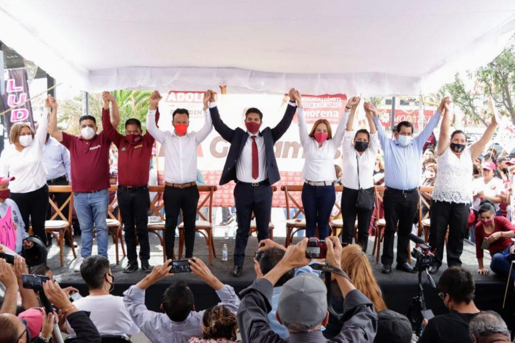 Adolfo Cerqueda recibe constancia de mayoría que lo acredita como presidente municipal electo de Nezahualcóyotl
