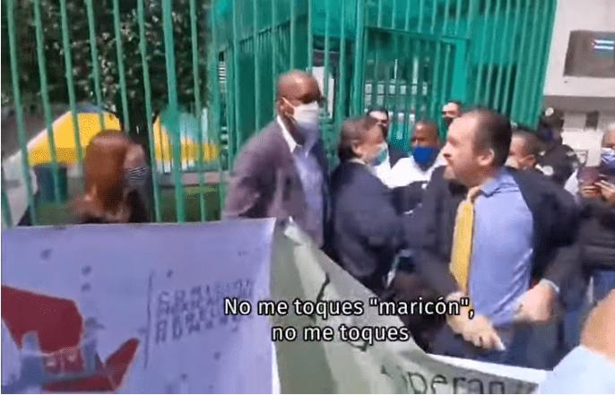 AMLO exhibió video en donde René Boilo lanza gritos  homofóbicos y racistas
