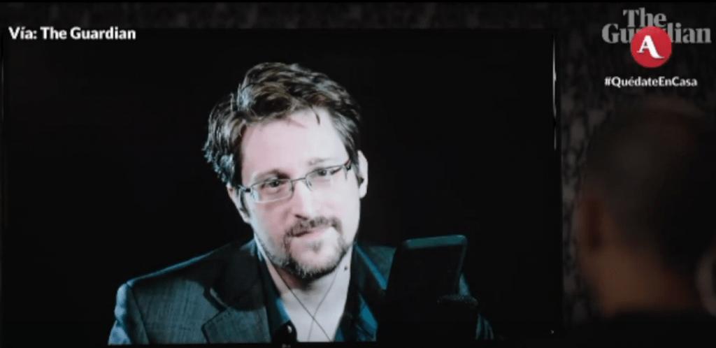 Trabajo colectivo para evitar comercializar software espía como Pegasus, recomienda Edward Snowden