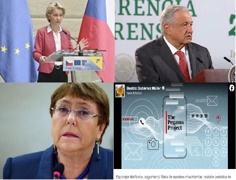 Altos funcionarios condenan espionaje