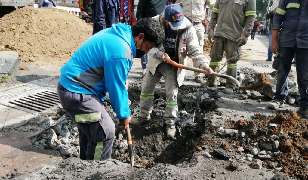 Prioriza Xochimilco reparación de fugas de agua