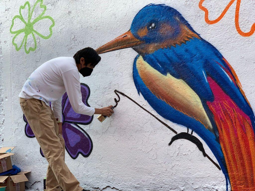 Gobierno de Ecatepec rescata espacios públicos con arte urbano y servicios