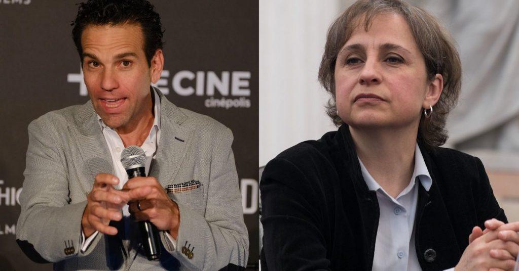 """Aristegui responde a Loret de Mola: """"lanza dardo para evadir responsabilidad…"""""""
