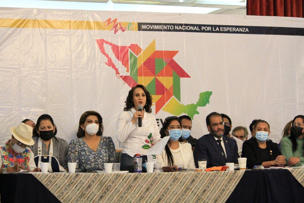 Anuncia Dolores Padierna campaña a partir del 2 de agosto para refrendar a AMLO en la Presidencia