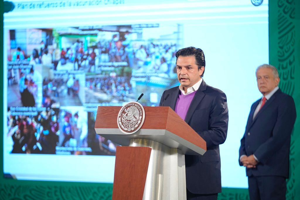 En Chiapas la gente sí quiere vacunarse contra COVID-19; se requería mayor acercamiento en zonas lejanas: Zoé Robledo