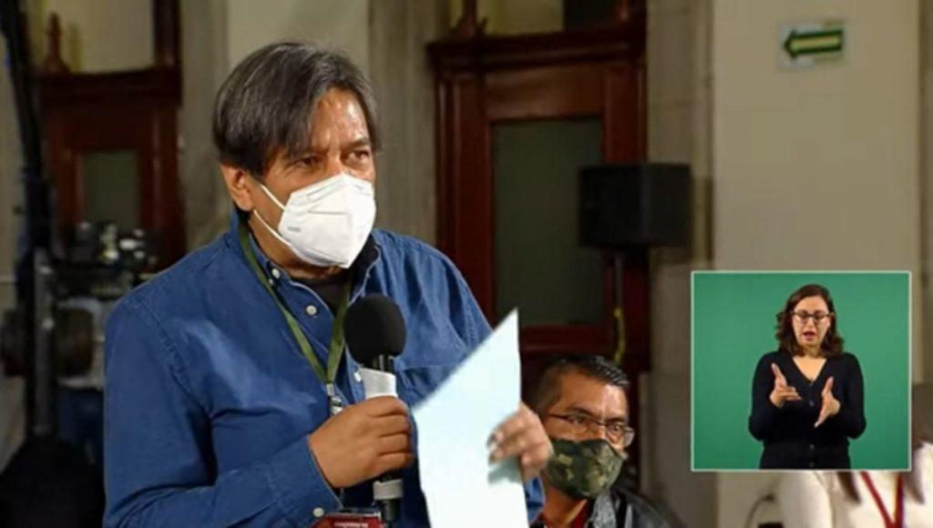 Julio Hernández ejerce derecho de réplica en la  conferencia matutina presidencial