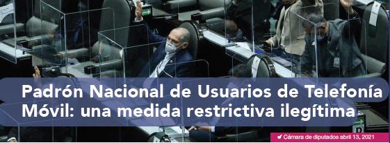 Padrón Nacional de Usuarios de Telefonía Móvil: una medida restrictiva ilegítima