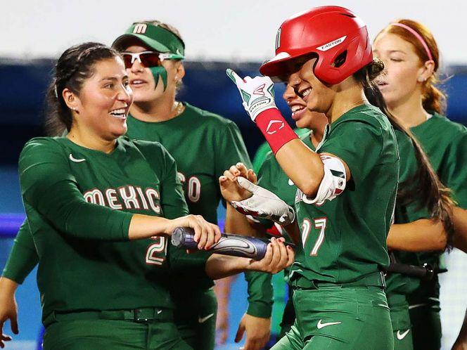 México disputará la medalla de bronce contra Canadá en softbol femenil