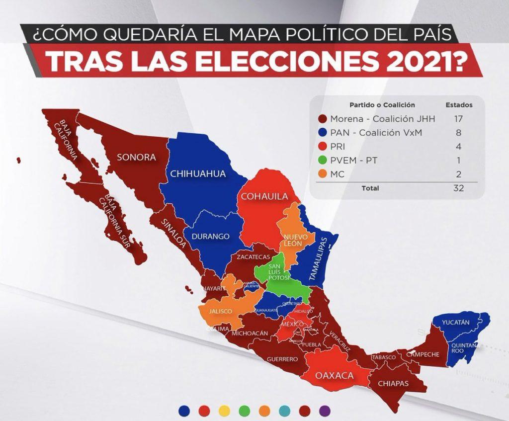 Balance electoral del proceso 2021