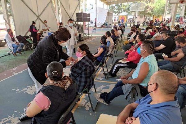 Del 6 al 8 de agosto se aplicará en Texcoco la segunda dosis de vacuna de vacuna Covid-19 a adultos de 50 a 29 años