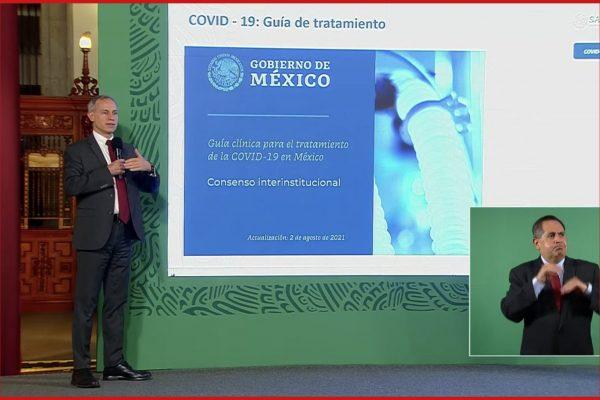 Secretaria de Salud pública nueva Guía Clínica contra la covid ante tercera ola del virus
