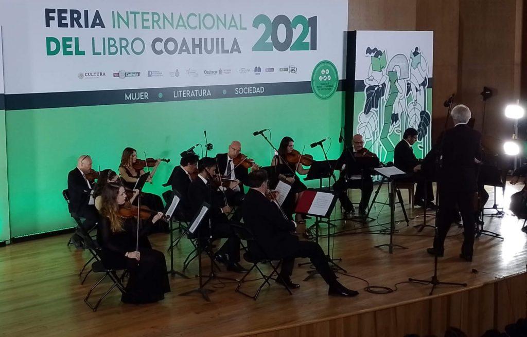 La 23 edición de la Feria Internacional del Libro de Coahuila se despidió contando cerca de 65 mil visitantes presenciales y 120 mil personas en redes sociales