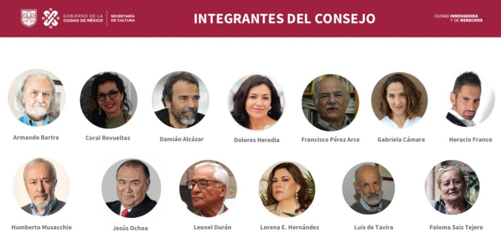 Crea gobierno CDMX Consejo Asesor de Cultura