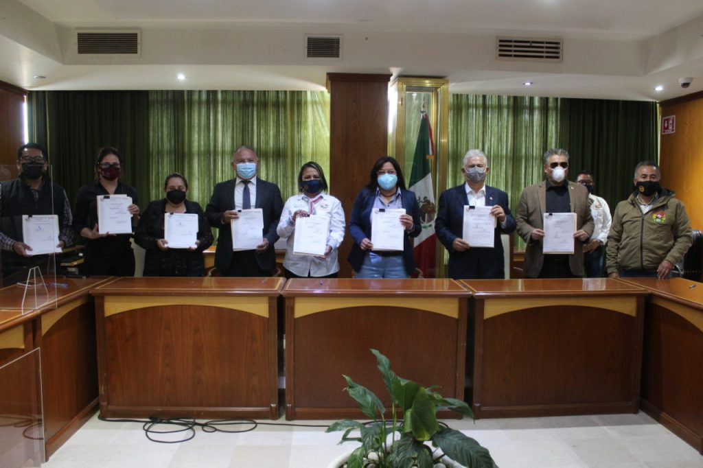 Firma convenio gobierno de Texcoco con el SUTEYEM