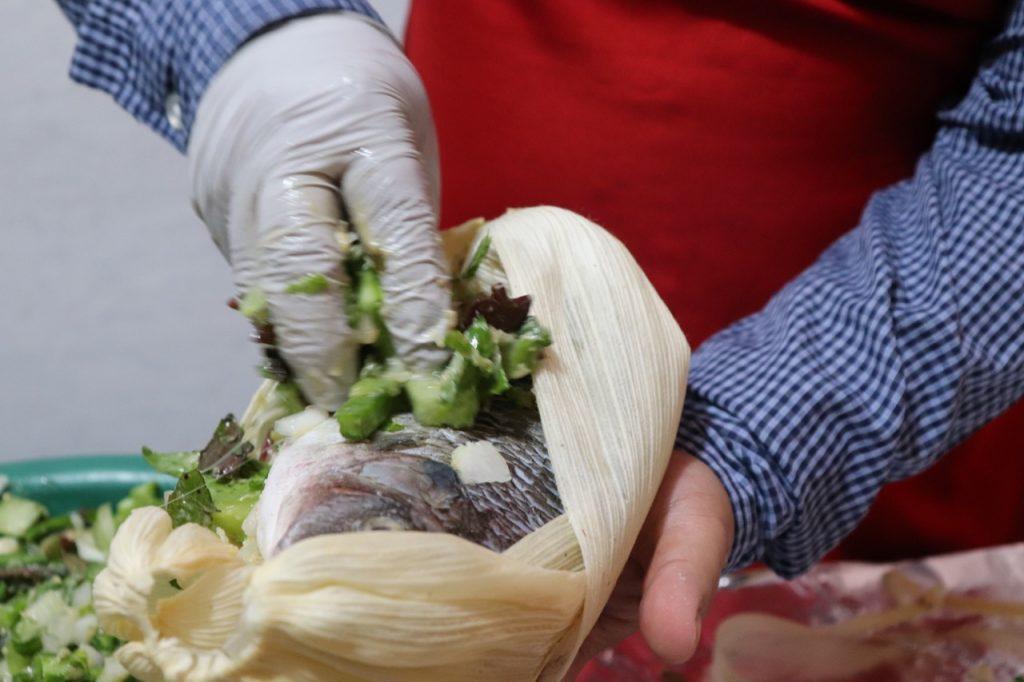 Tlapique, manjar prehispánico originario de Xochimilco