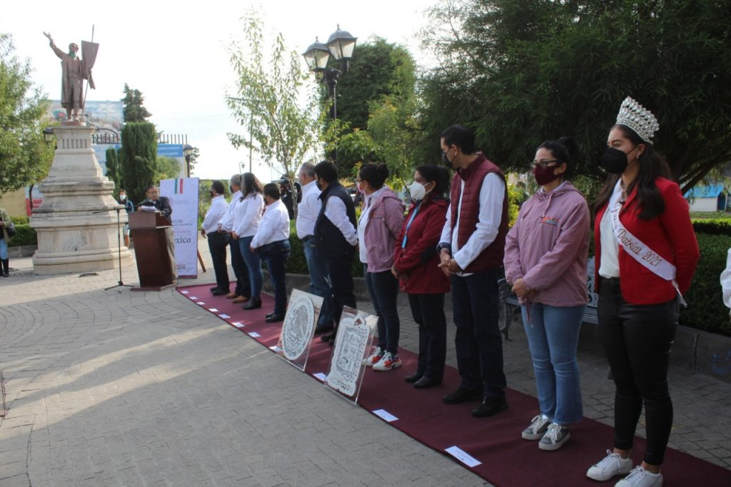 Gobierno de Texcoco recuerda a los héroes de la independencia