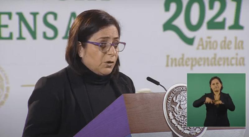 """""""Somos gente integra; gobierno apoya a damnificados; no necesitamos de ningún Fonden"""": Laura Velázquez"""