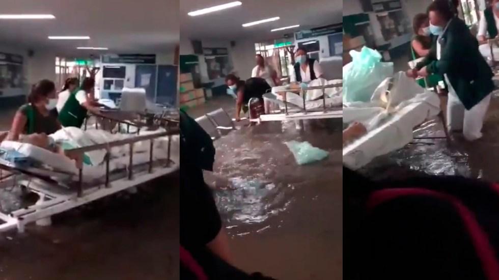 """Sismo no deja daños graves; """"muy lamentable"""" muerte de 17 enfermos de COVID por inundación, se brinda apoyo a damnificados: AMLO"""
