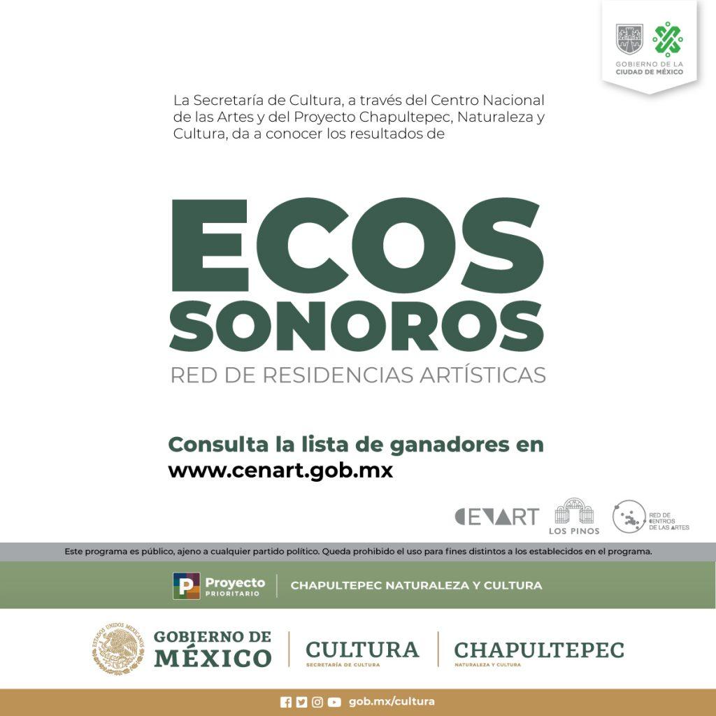 Los resultados de la convocatoria Ecos Sonoros. Red de Residencias Artísticas