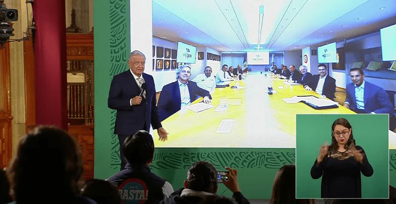 Reunión de dirigentes de PAN, PRI y PRD con Claudio X. González, una promiscuidad política: AMLO