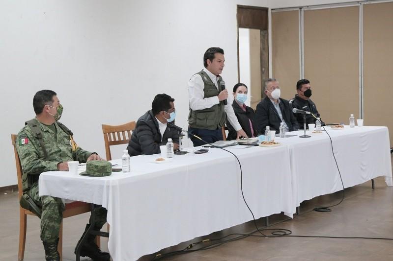 Llama IMSS a alcaldes y líderes de organizaciones de Chiapas a reforzar vacunación contra COVID-19