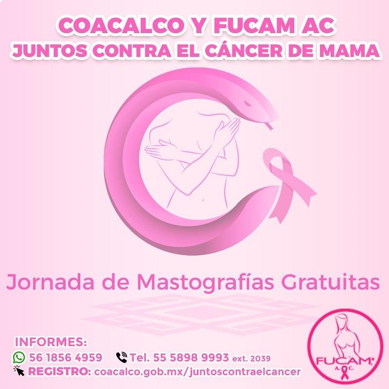 """Con """"Juntos Contra el Cáncer"""" Gobierno de Coacalco Ofrece Jornadas de Mastografias Gratuitas"""