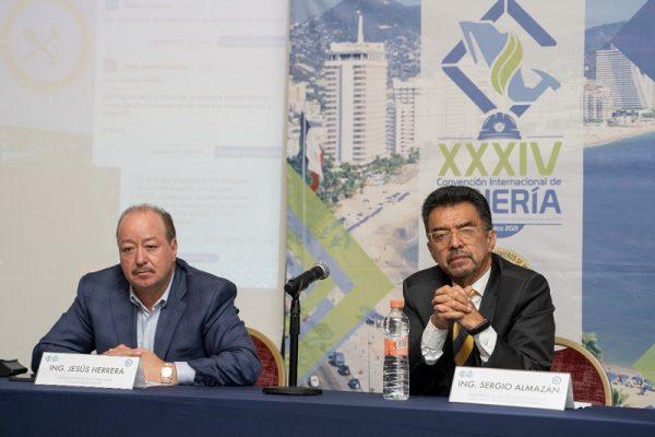 Anuncian inauguración de la XXXIV Convención Internacional de Minería, en Acapulco