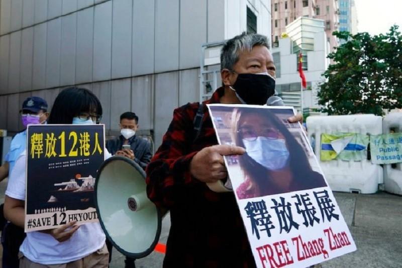 Liberación de la periodista china Zhang Zhan, piden organizaciones de defensa a los derechos humanos